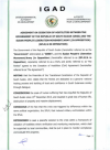 South Sudan Cessation of Hostilities Agreement - Signed