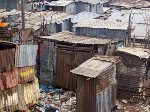 The-Kibera-Slums-in-Nairobi-Kenya