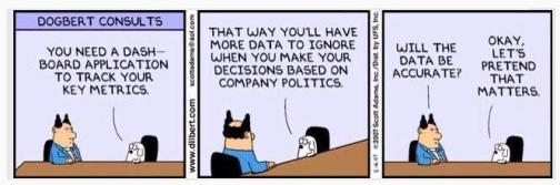dilbert managing for results